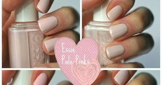 Essie Pale Pink Comparison Ballet Slippers Minimalistic