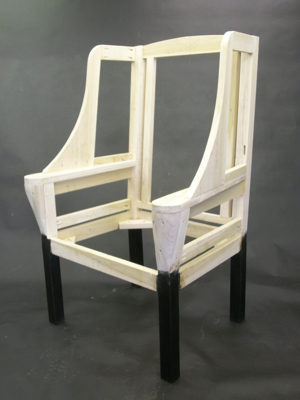 Letters From The Chair Upholstered Frame Work