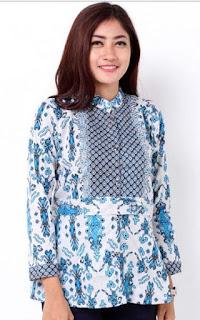 Foto Model Baju Batik Kantor Modern