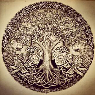 Yggdrasill,arbol-del-mundo,-fresno-sagrado