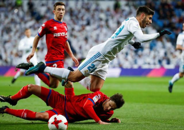 Video Real Madrid - Numancia: Tưng bừng 2 cú đúp, thẻ đỏ phút 92