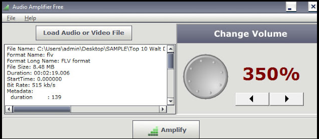 برنامج مكبر الصوت للويندوز