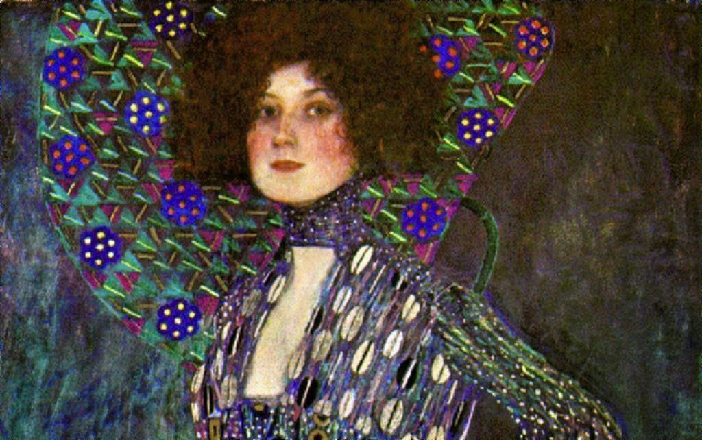 Emilie Flöge - Gustav Klimt e suas pinturas ~ Pintor simbolista austríaco