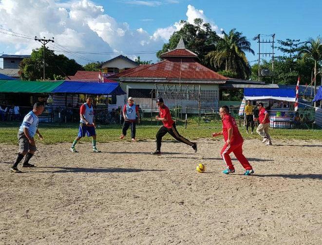 Wabup Buka Turnamen Sepak Bola Mini