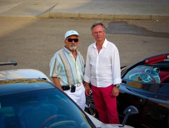 Horacio Pagani y Benny Caiola
