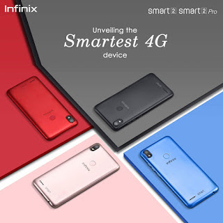 Infinix Smart 2 and Smart 2 Pro Full Specifications and Price