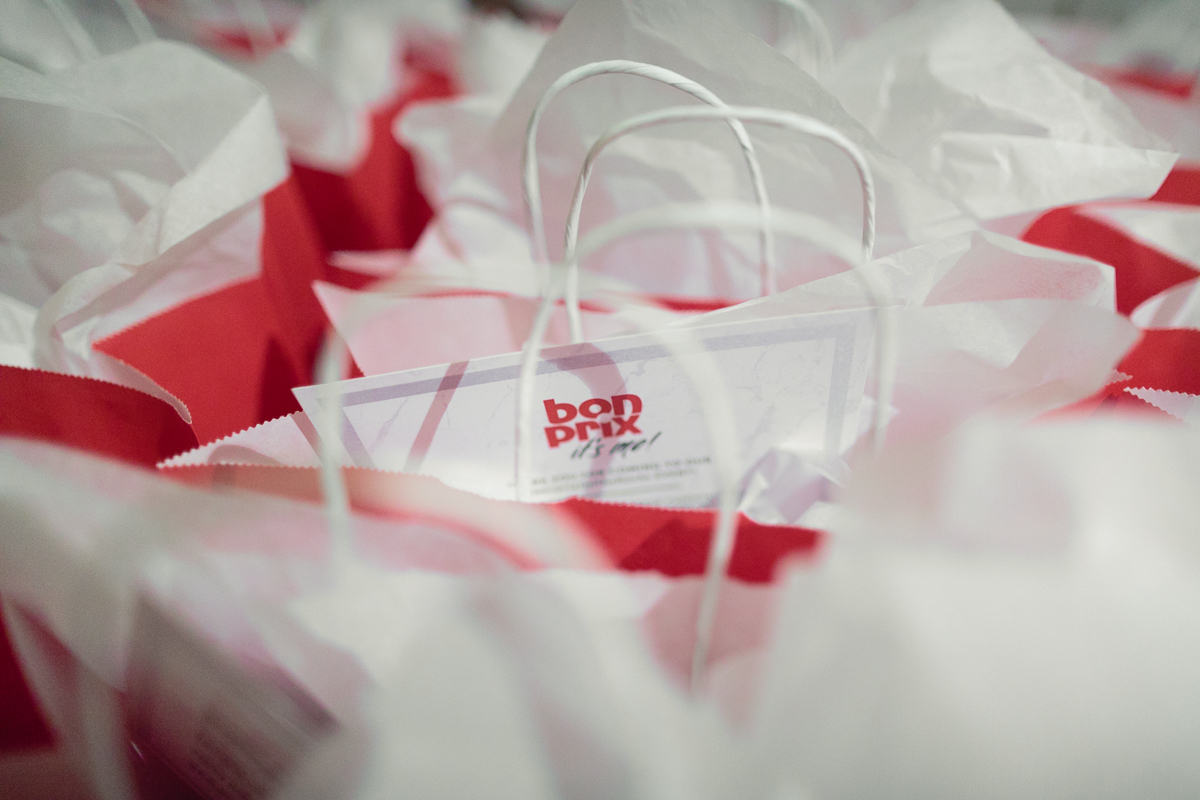 BonPrixOnTheRocks goody bags