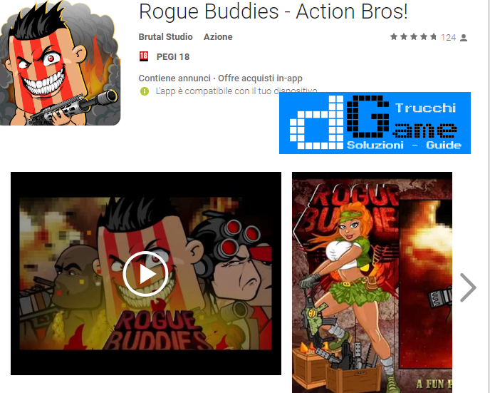 Trucchi Rogue Buddies – Action Bros Mod Apk Android v1.0.5