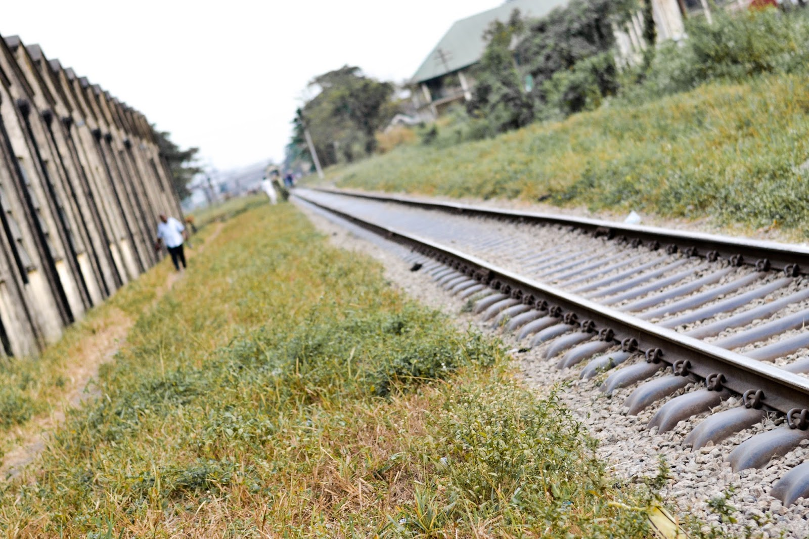 Nigerian Railway Corporation Track in Ebute Metta