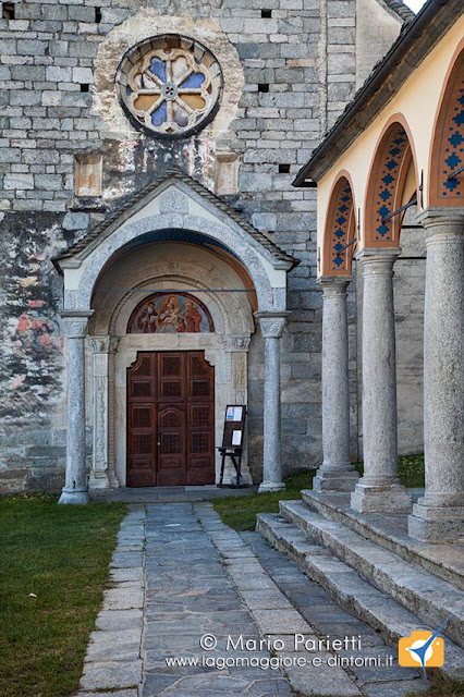 Chiesa di san Giulio a Cravegna: facciata