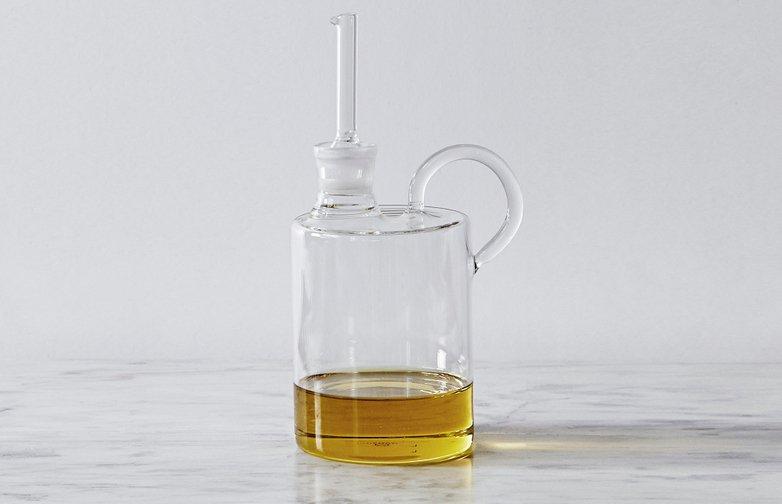 Butelka na oliwę z oliwy