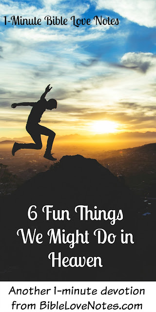 we can fly in heaven, we have our pets in heaven, 6 Fun things we'll do in heaven