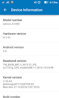 Lenovo A100 SPD 7731 Firmware 100% Tested By Me