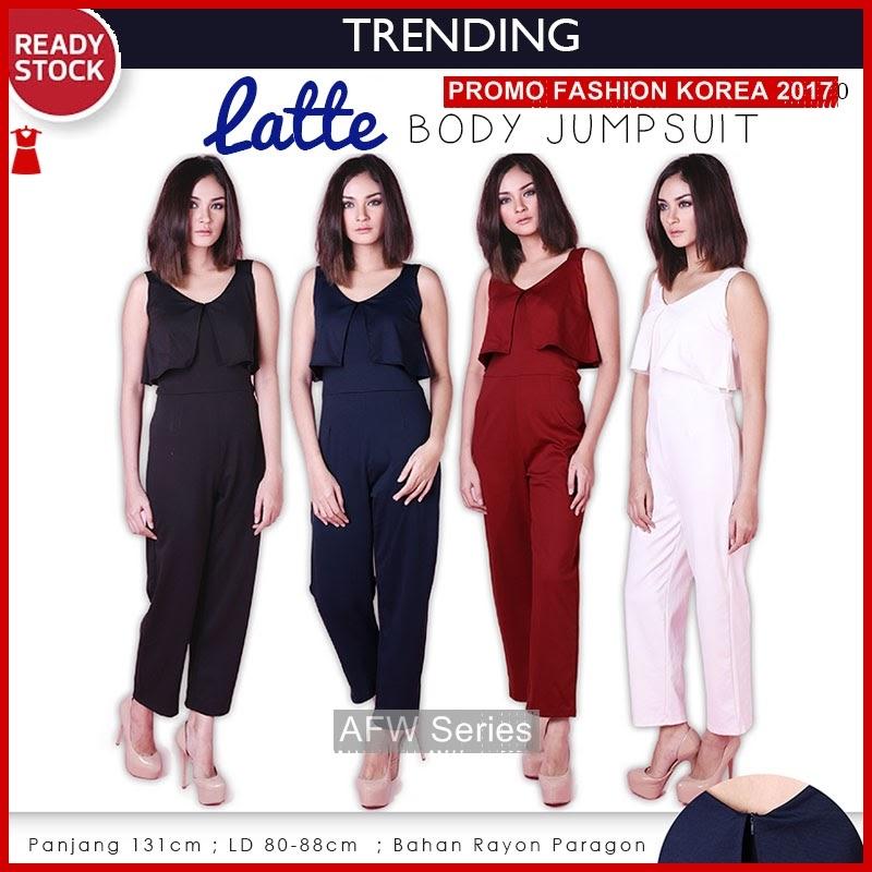 BAMFGW132 Latte Jumpsuit Celana Wanita PROMO BMG
