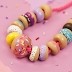 Make and String Up a Polymer Clay Donut Necklace!