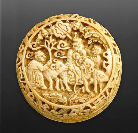 Chinese Ivory Carvings A Brief History Over 2000 Years