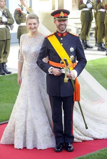 Принц Гийом и принцеса Стефани от Люксембург