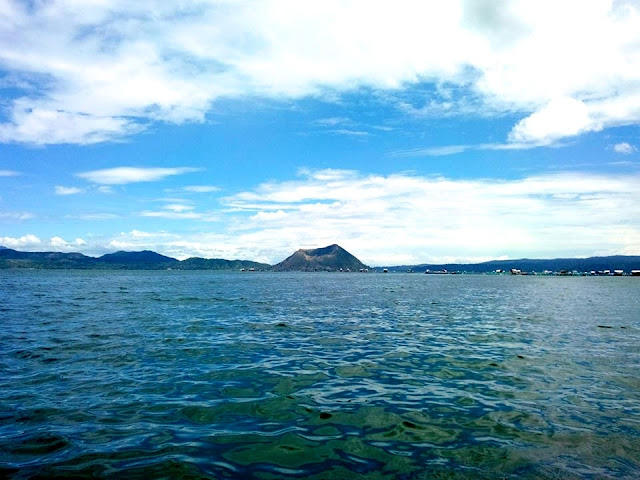 Taal Volcano by the Lake