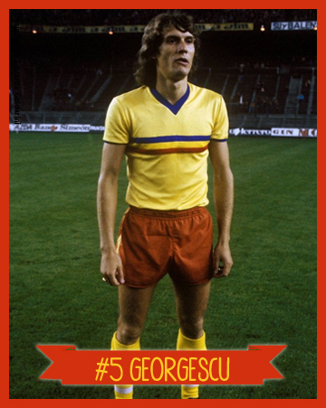 Resultado de imagem para Seleção Romena de Futebol 1980