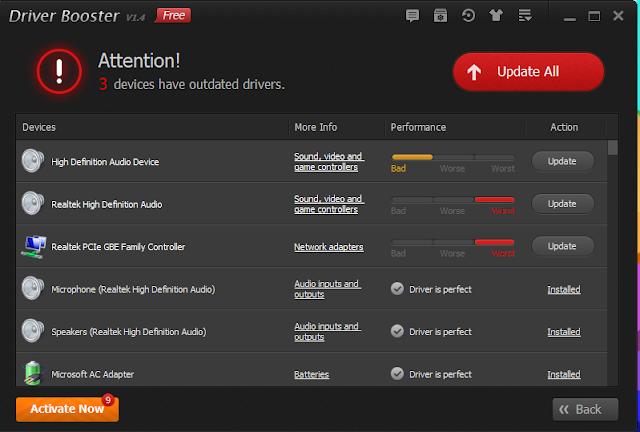 Cara Install Driver Mudah dengan IObit Driver Booster