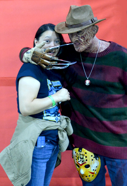 Walker Stalker Con 2016 | With Freddy Kreuger