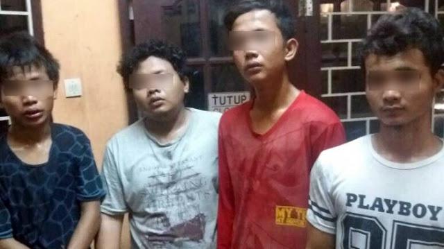 GASWAT! Mencuri Peralatan Komputer di Kampus USU, Empat Pemuda Ini Ditangkap saat Sembunyi di Warnet
