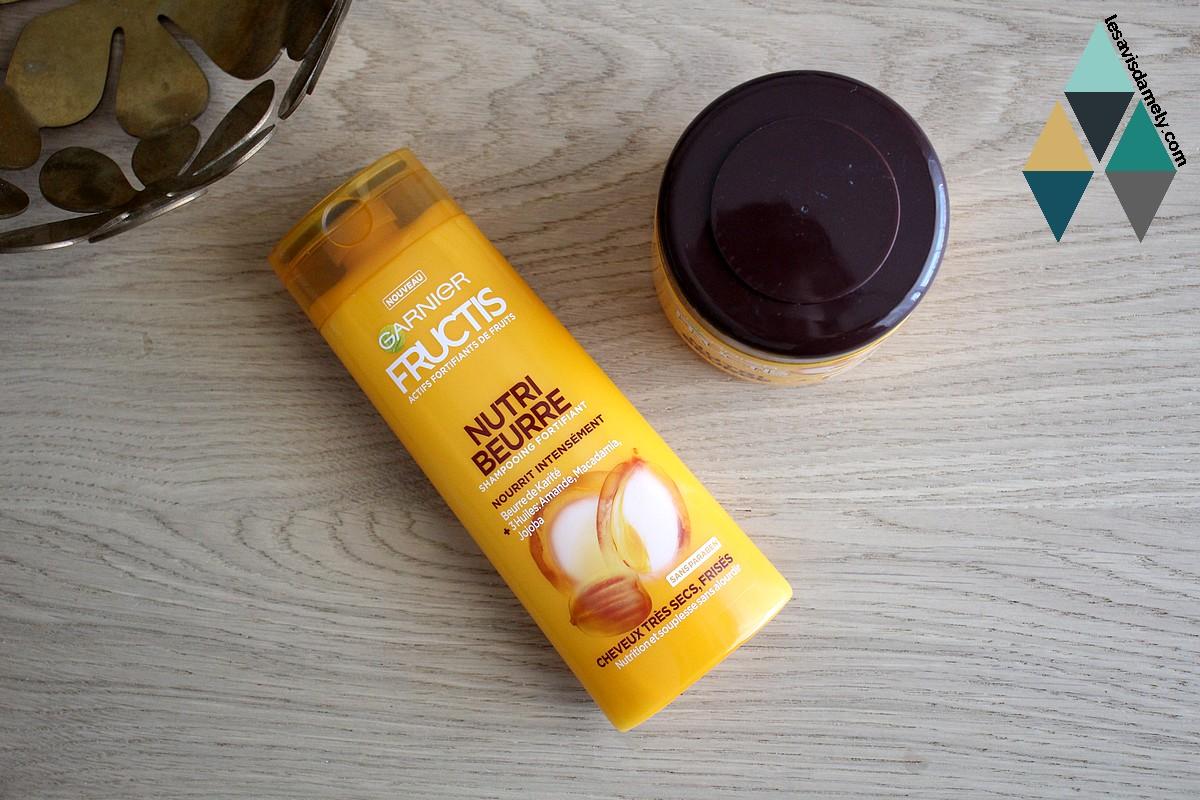 avis et test revue beauté fructis garnier nutri beurre