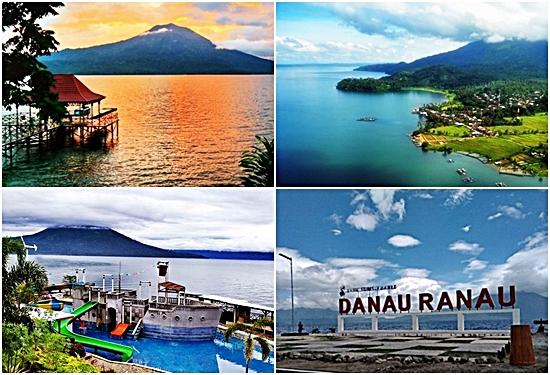 Danau Ranau Destinasi Wisata dengan View Mempesona di Lampung Barat