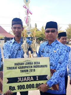 Kepala Dinas Pemberdayaan Masyarakat Desa (DPMD) Kabupaten Indramayu, Dudung Indra Ariska
