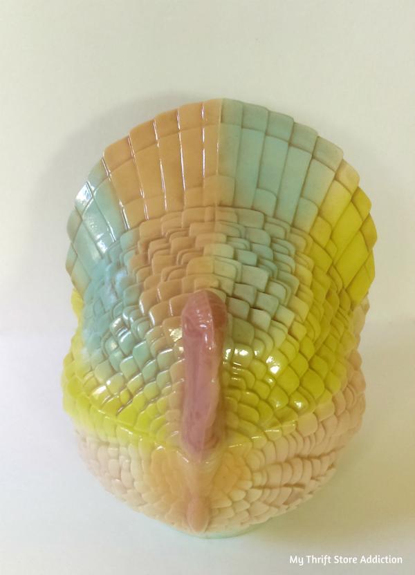 handmade ceramic turkey