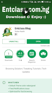 Entclass Blog Playstore download