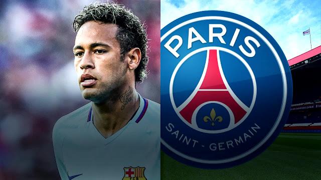 sports neymar and barcelona psg