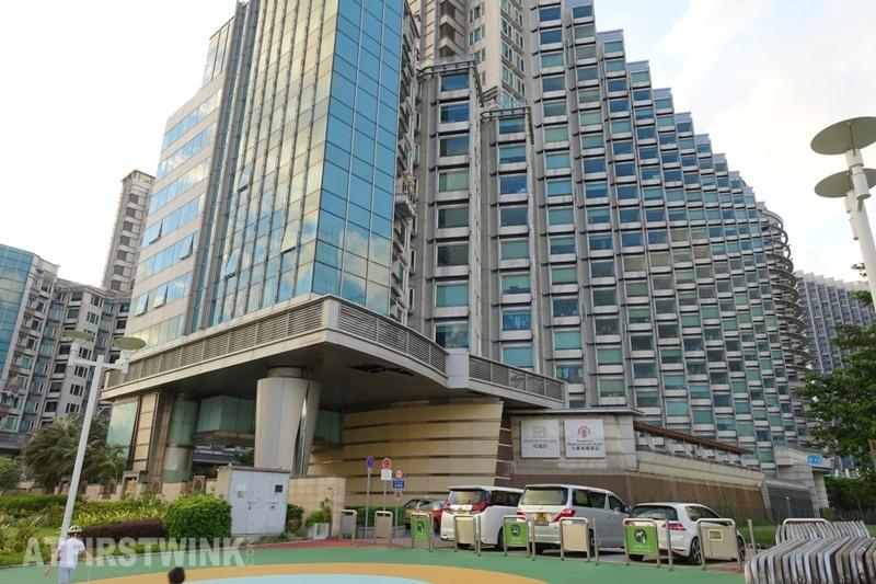 Kowloon Harbourfront hotel in Hong Kong back exit Tsim Sha Tsui promenade