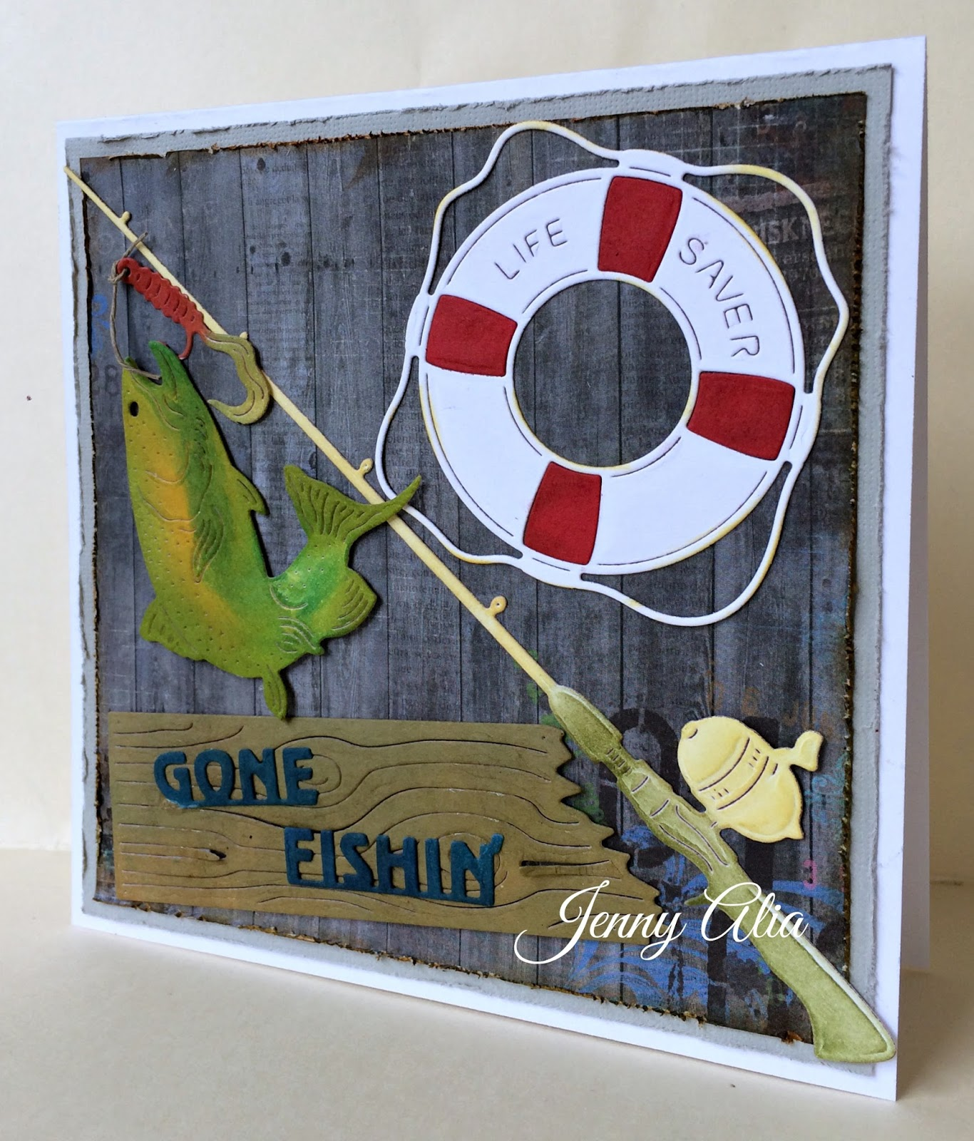 Jen 39 s paper obsession dies r us gone fishin 39 for Fishing r us