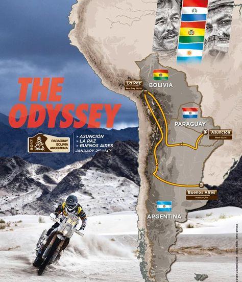 Rally Dakar 2017 en Bolivia