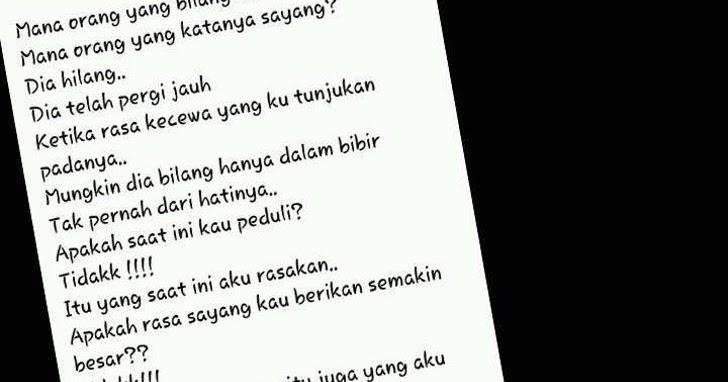 Puisi Suara Hati Esih Nurhasanah | Kata kata Mutiara ...