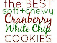 The BEST Soft & Chewy Cranberry White Chocolate Chip Cookies