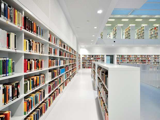 Thư viện tại chung cư An Bình City - 232 Phạm Văn Đồng