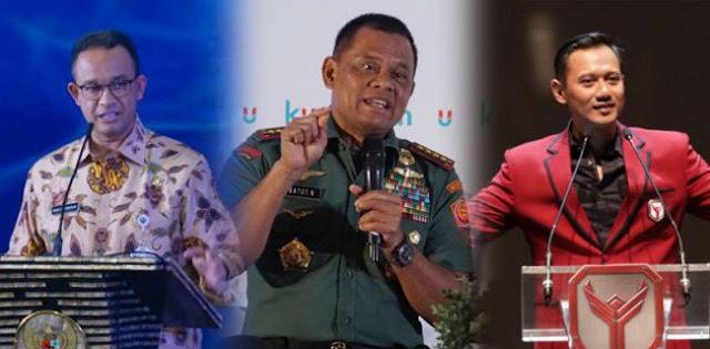 Prabowo-Gatot, Gatot-Anies Atau Anies-AHY?