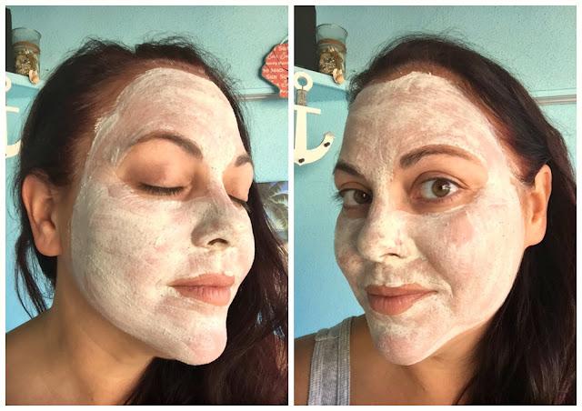 valentia skin detoxifying clay mask selfie