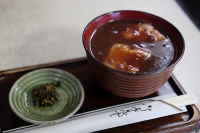 松本 甘味 塩川喫茶部 田舎しるこ(あづきのつぶあん)