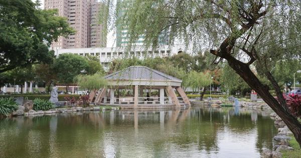 台中北屯|北屯兒童公園|生態池|溜滑梯|兒童館|棒球場|網球場|老少皆宜好去處