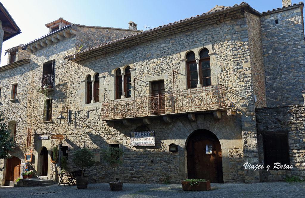 Casas de la Villa Medieval de Aínsa, Huesca