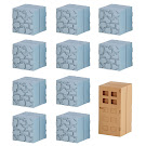 Minecraft Cobblestone & Wooden Door Mine-Keshi Block Set Figure