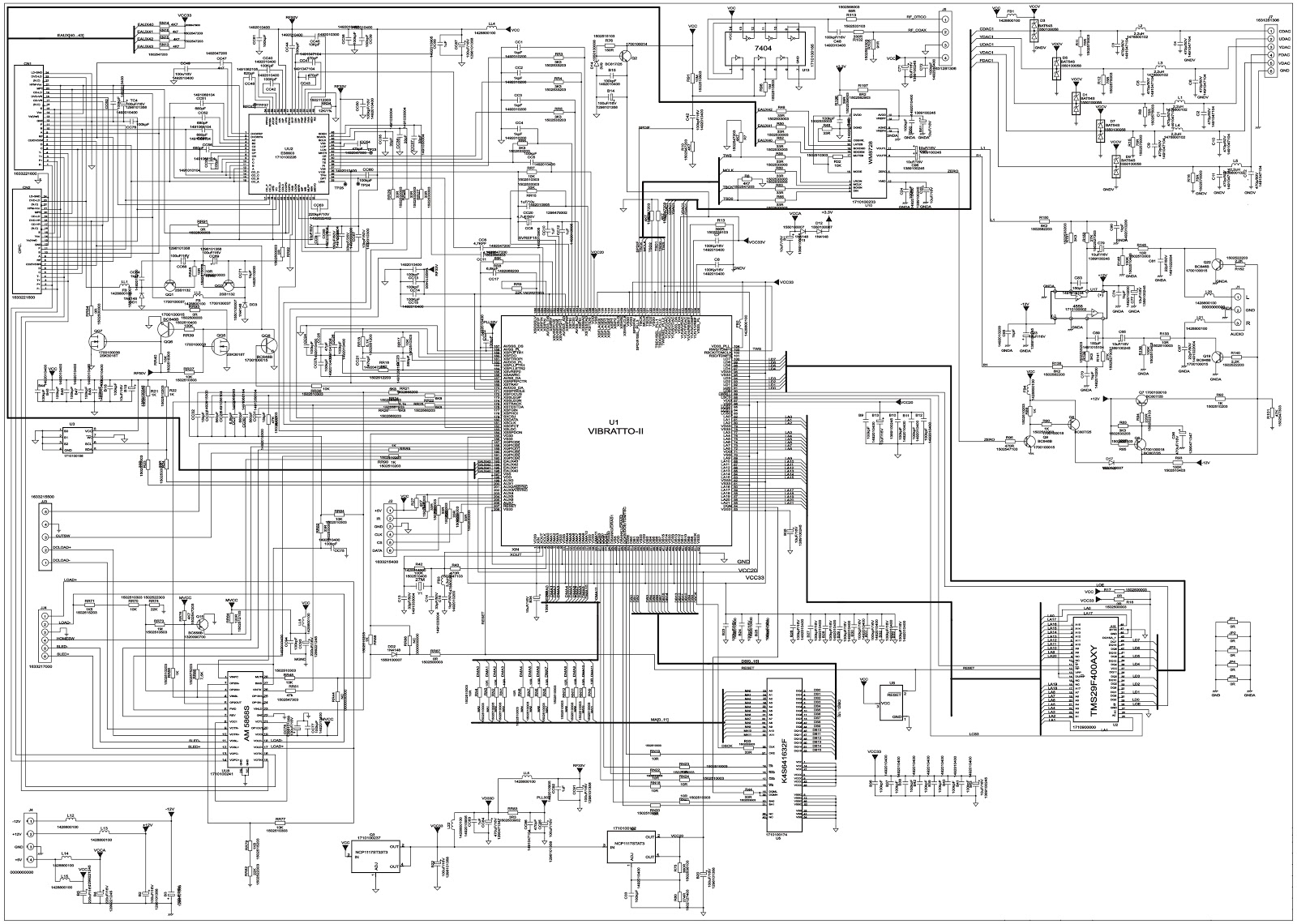 Bluesky Tvd 290fs Tv Dvd Crt Type Circuit Diagram