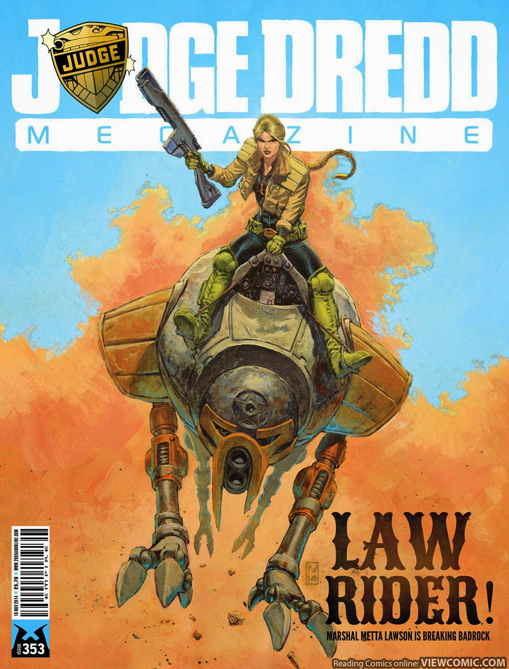 Judge Dredd Megazine 353 (2014) ……… | Viewcomic reading comics