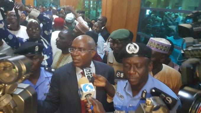 Police arrests senator over raided mace