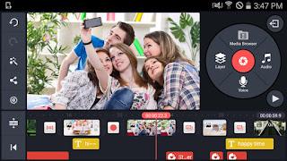كين ماستر KineMaster  2019  : تحميل تطبيق محرر الفيديو وعمل مونتاج كين ماستر للأندرويد