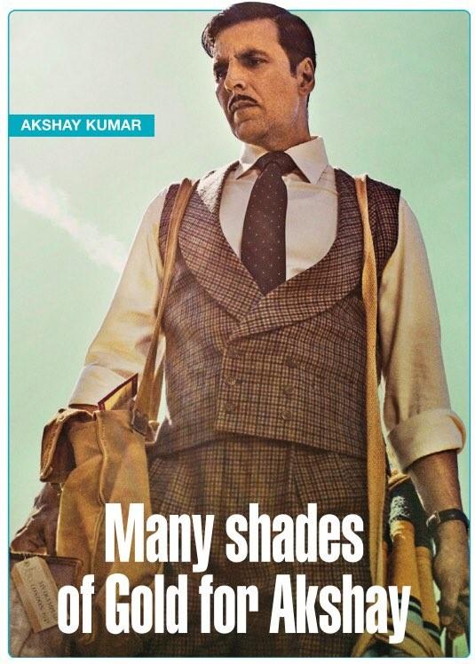 Akshay Kumar Treats Fans with 'Gold' Poster