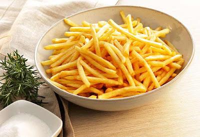 رقائق البطاطا من الاغذية المضرة